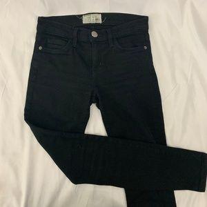 Current/Elliot Black Denim Jeans 0 / 25